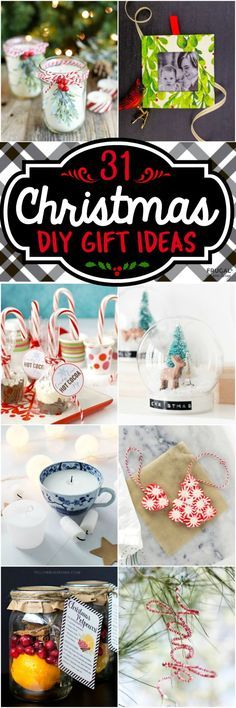 31 DIY Christmas Gift Ideas – Looking for something creative to gift this holi...
