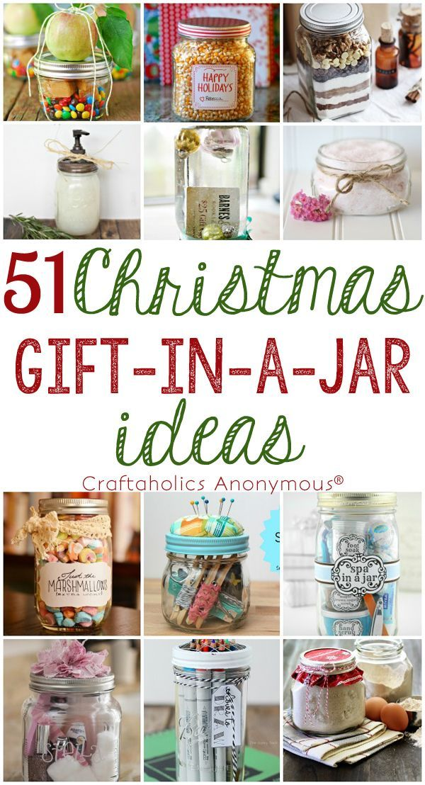 DIY Gifts Ideas : 51 DIY Christmas Gift in a Jar Ideas for