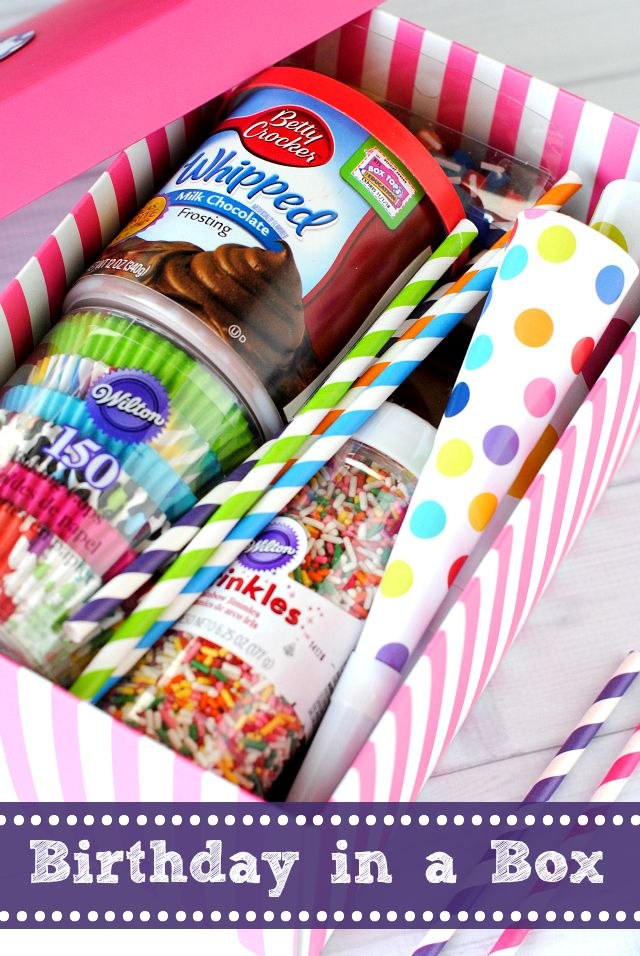 DIY Gifts Ideas : A Birthday Party In a Box Great Birthday Gift