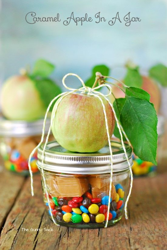 Diy gifts ideas caramel apple in a jar giftsdetective diy gifts 2018 2019 negle Images
