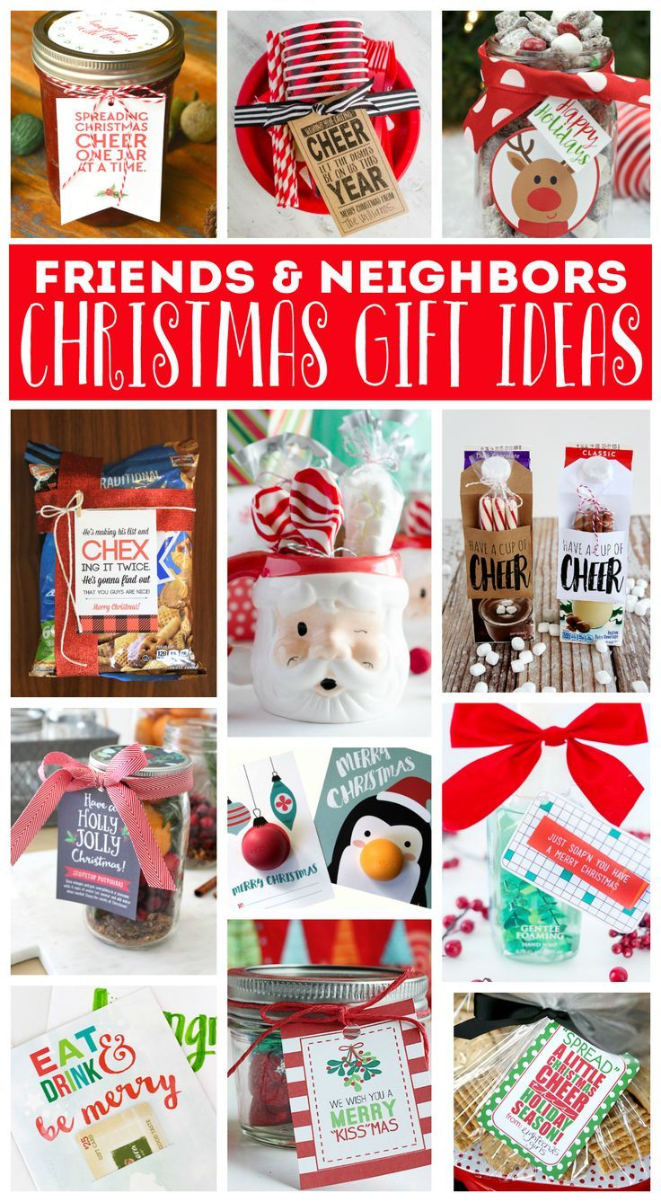 DIY Gifts Ideas : Christmas Gift Ideas for Friends and Neighbors ...