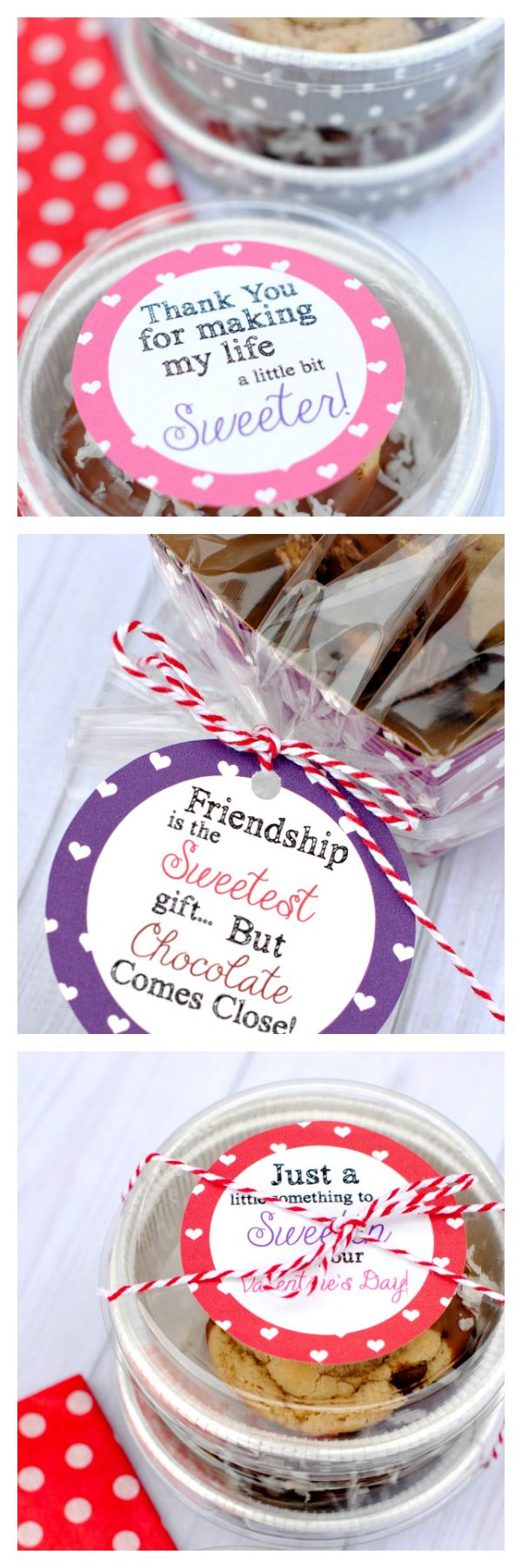 DIY Gifts 2018 /2019  sc 1 st  GiftsDetective.com & DIY Gifts Ideas : Cute Gift Tags to package Valentineu0027s Treats for ...