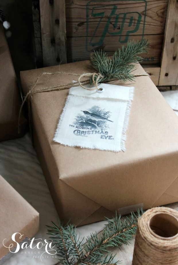 diy gifts ideas diy vintage christmas gift tags made with cotton