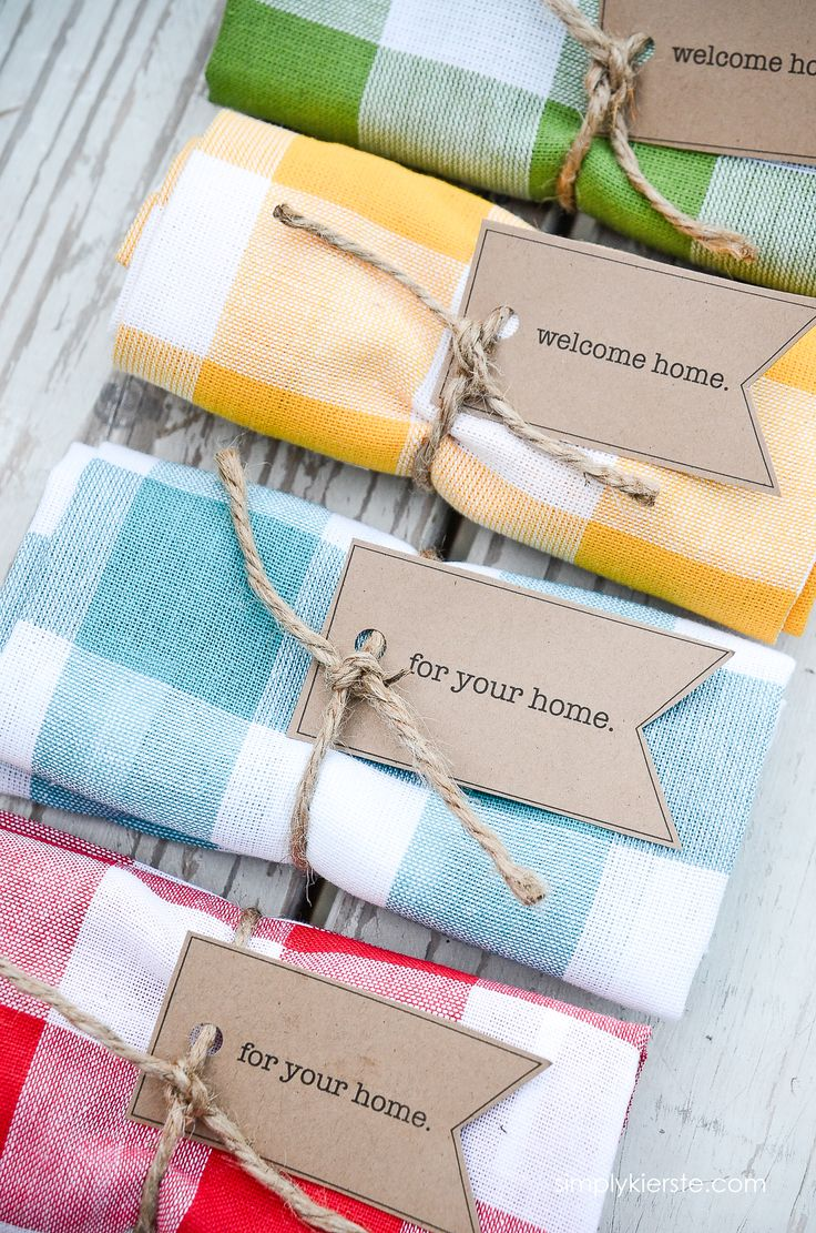 diy gifts ideas easy adorable dishtowel gift idea perfect for