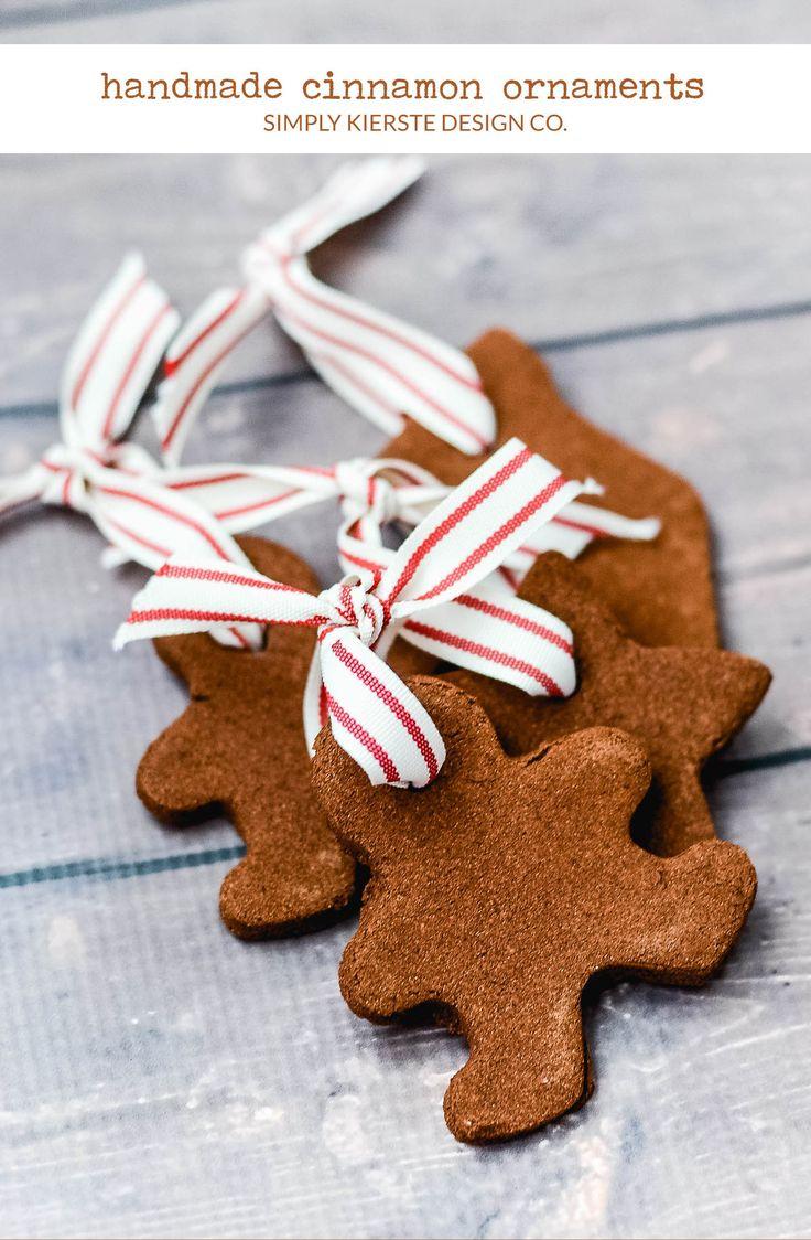 Diy Gifts Ideas Easy Handmade Cinnamon Ornaments Christmas