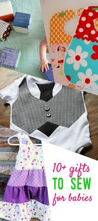 gifts to sew for babies   baby toy patterns   baby dress pattern   baby bib patt...