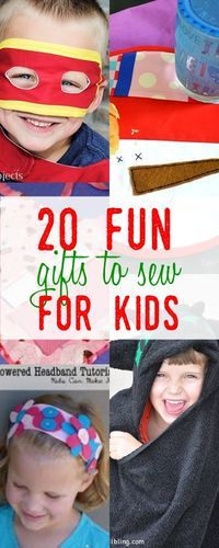 gifts to sew for kids | kids apron tutorial | holiday gift ideas | fun things to...