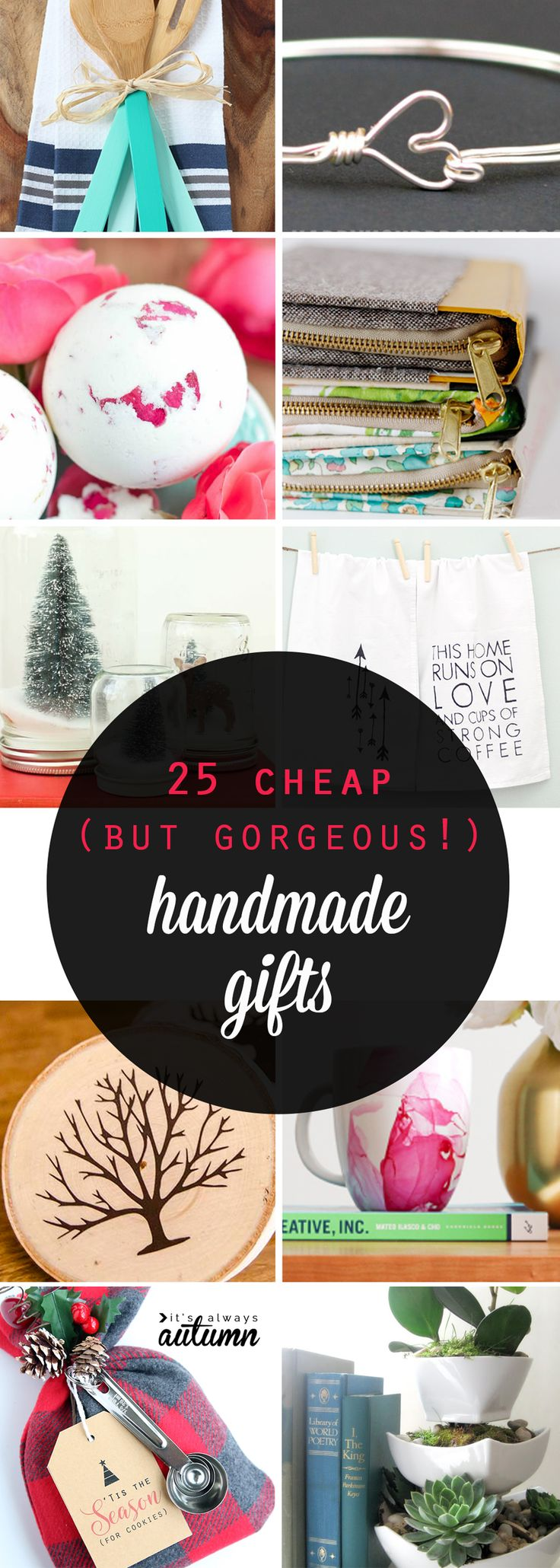 DIY Gifts Ideas : Great list of gorgeous handmade gifts that are ...