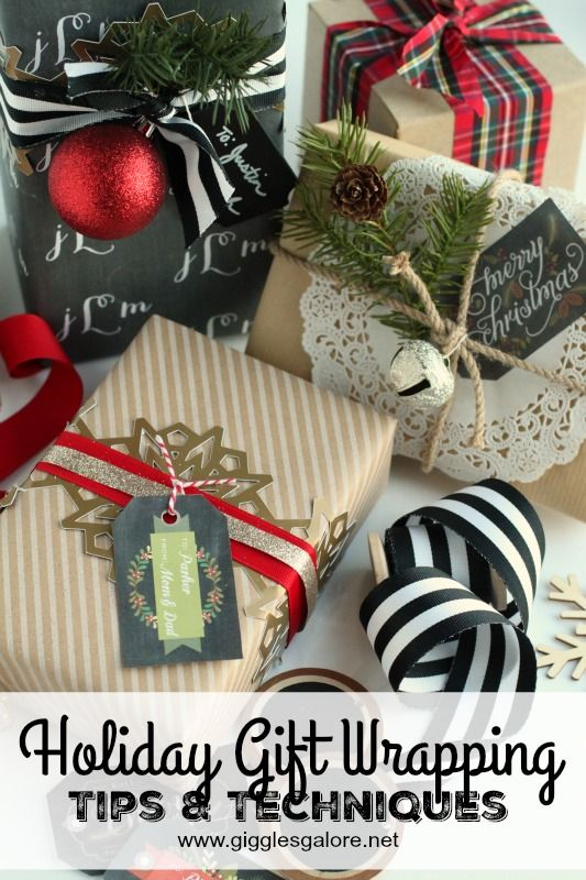Holiday Gift Wrapping Tips & Techniques!