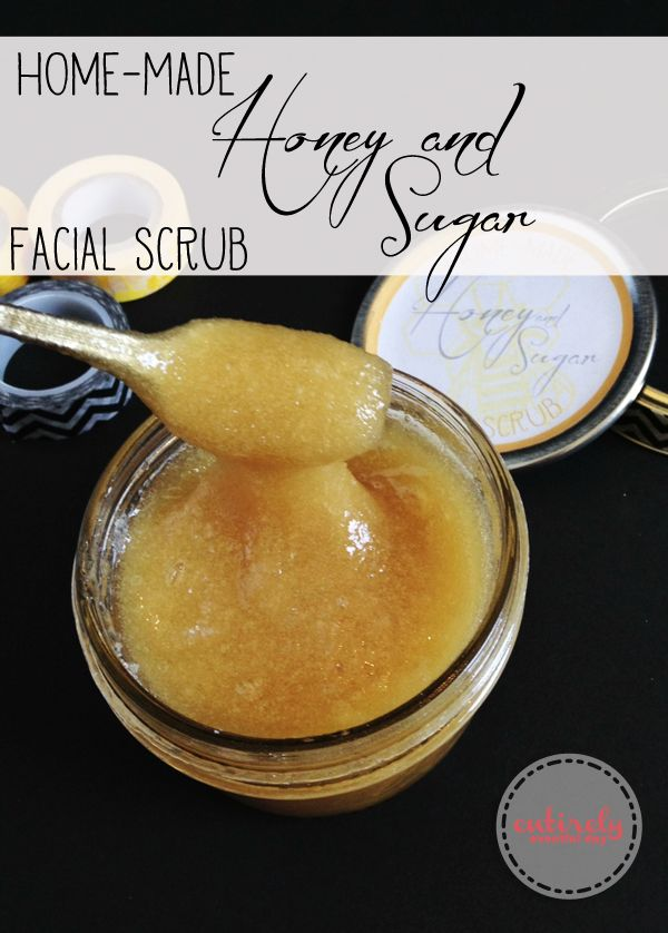 DIY Gifts Ideas : Honey and Sugar facial scrub. The ...