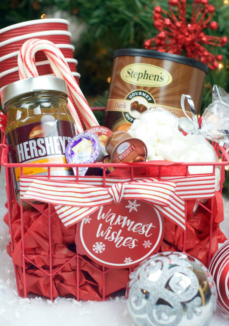 DIY Gifts Ideas : Hot Chocolate Gift Basket - GiftsDetective.com ...