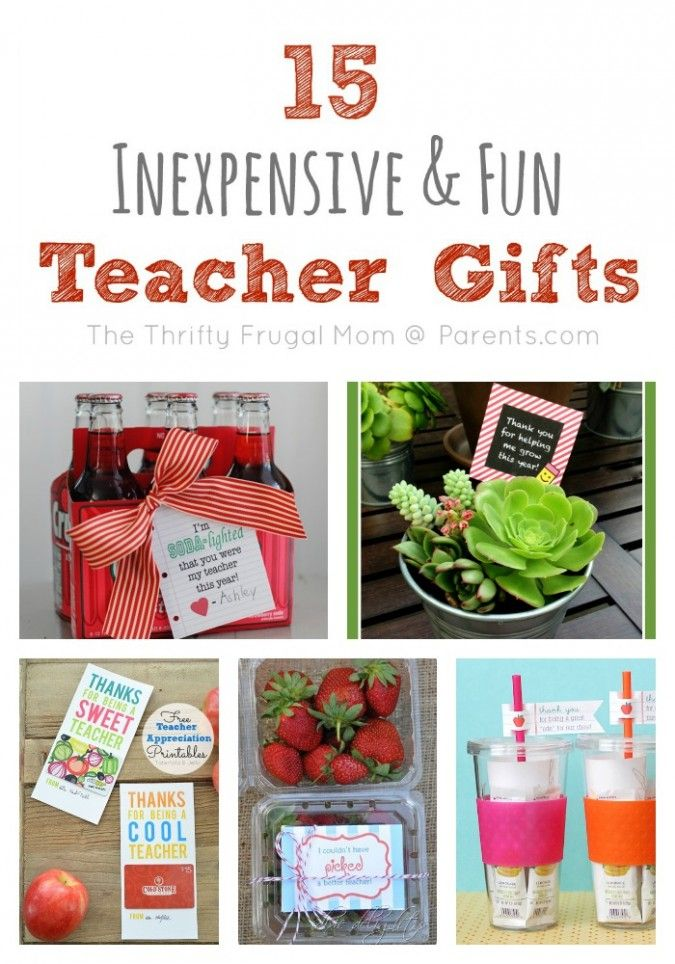 diy gifts 2018 2019 inexpensive cheap teacher gift ideas
