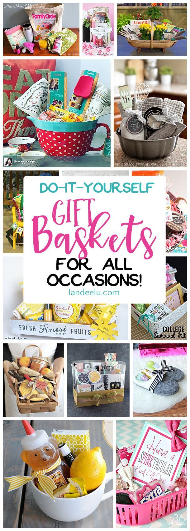 DIY Gifts Ideas : Put together a gift basket for any occasion and ...