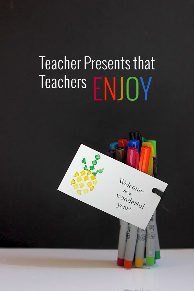 Show  your teachers some love with this easy project!