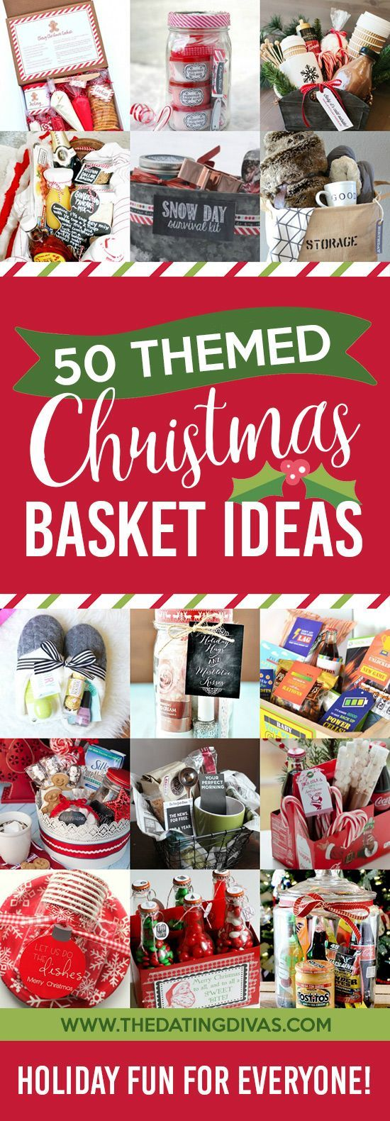 DIY Gifts Ideas : So many cute Christmas basket ideas!!! Love how ...