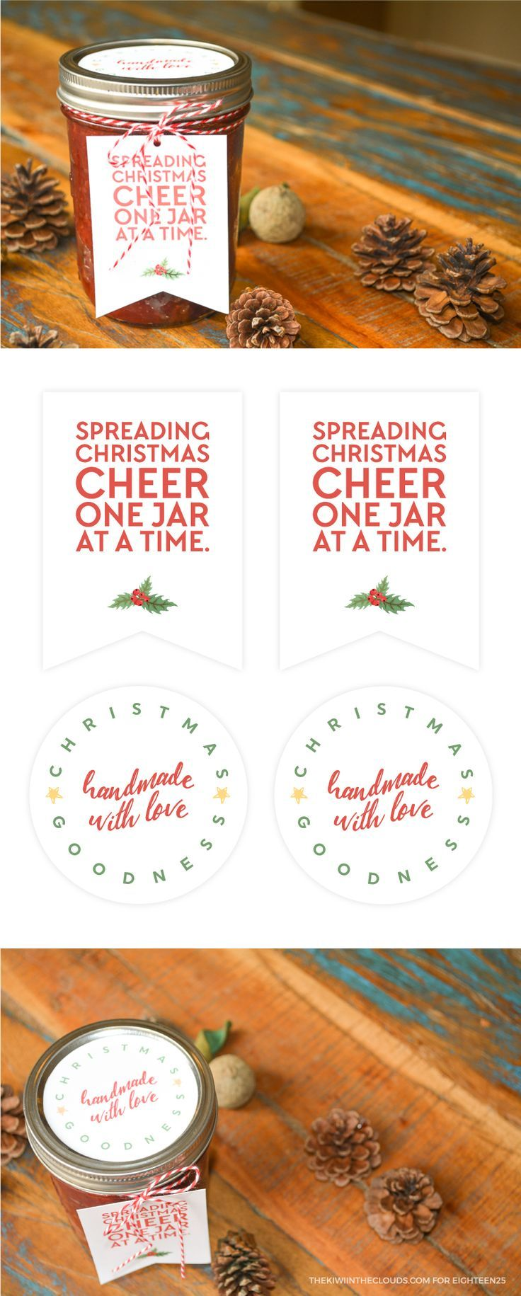 DIY Gifts Ideas : Spreading Christmas Cheer One Jar At A Time ...