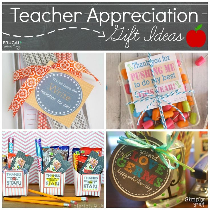 DIY Gifts Ideas : Teacher Appreciation Gift Ideas on Frugal Coupon ...