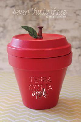 Terra Cotta Apple