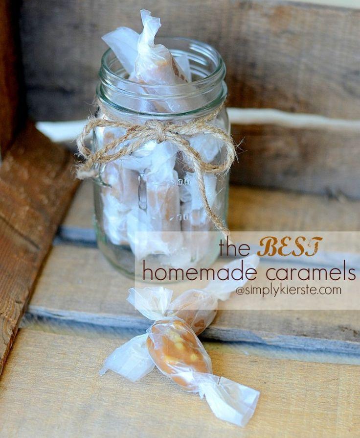 The Best Homemade Caramels   simplykierste.com