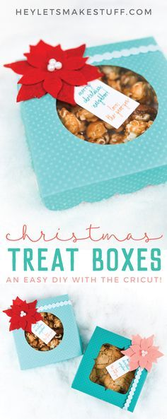 Want to make Christmas gifts for neighbors? Bake up some cookies and use your Cr...