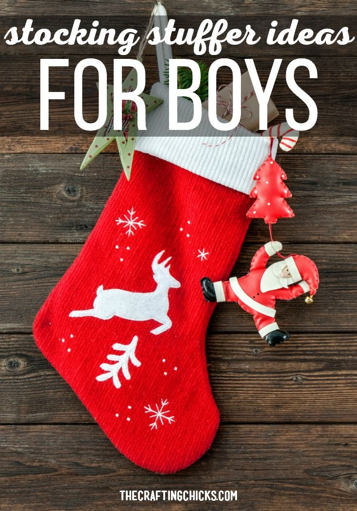 We have a great list of Stocking Stuffer Ideas for Boys. We think that any boy i...