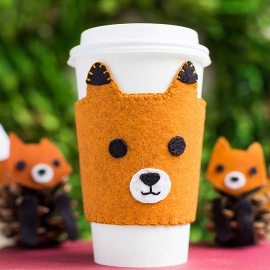 Keep your drink warm with this adorable tea cosy.