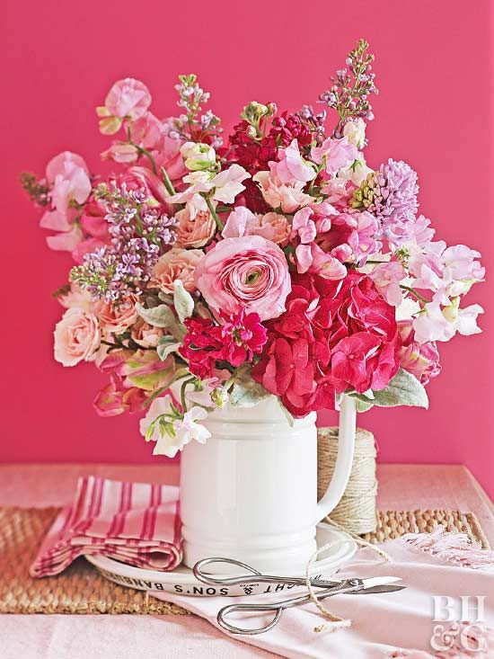 Diy gifts make an impressive flower arrangement on your for Create your own flower arrangement