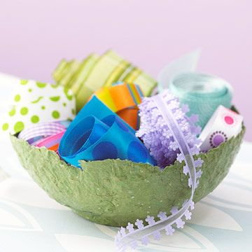 Then form your paper into all kinds of paper crafts for your home or for gift gi...