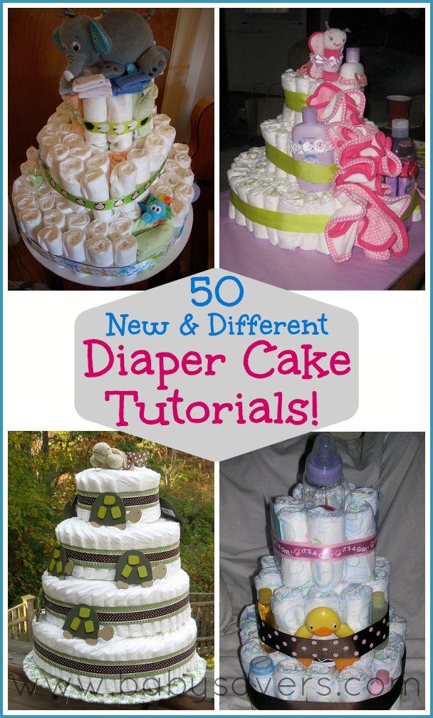 How To Make A Diaper Bag Cake Tutorial