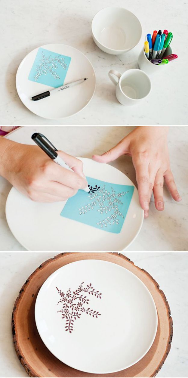 DIY Wrapping Gifts Inspiration : Cool DIY Sharpie Crafts Projects ...