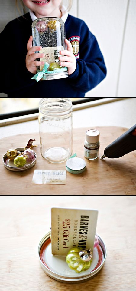 diy wrapping gifts inspiration diy gift card snow globe really