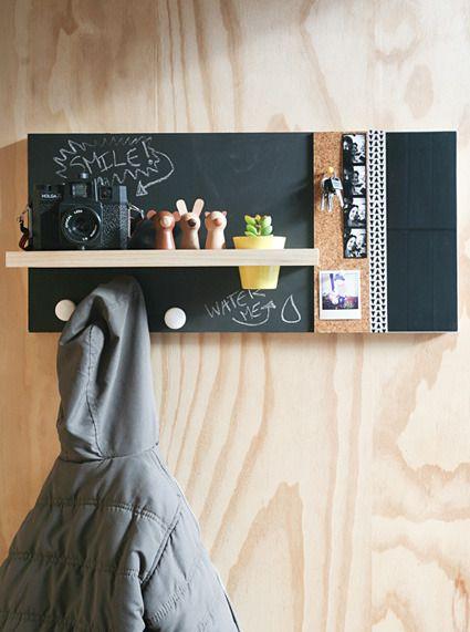 #DIY wall organizer