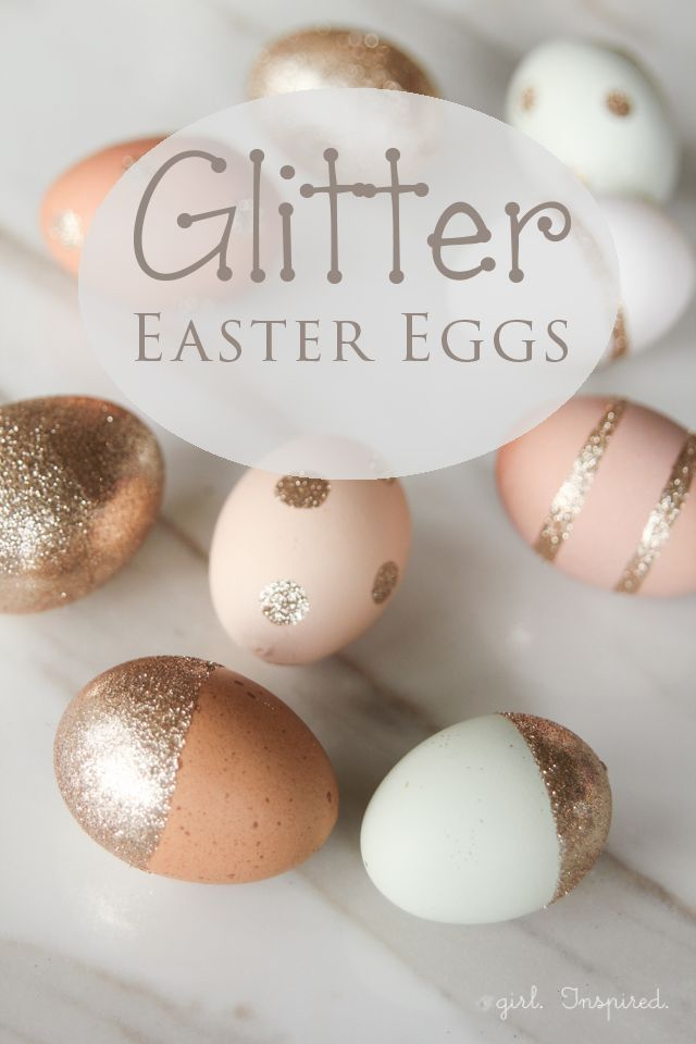 Diy wrapping gifts inspiration glitter easter eggs diy wrapping gifts inspiration negle Choice Image