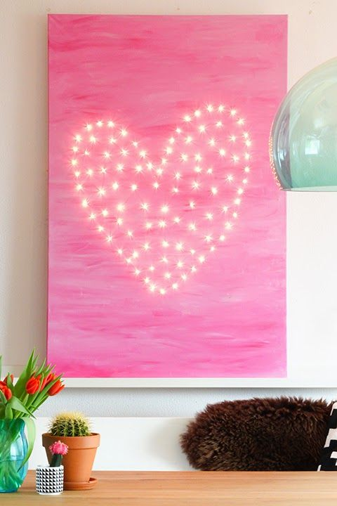 Heart of lights #diy | Elske | www.elskeleenstra.nl