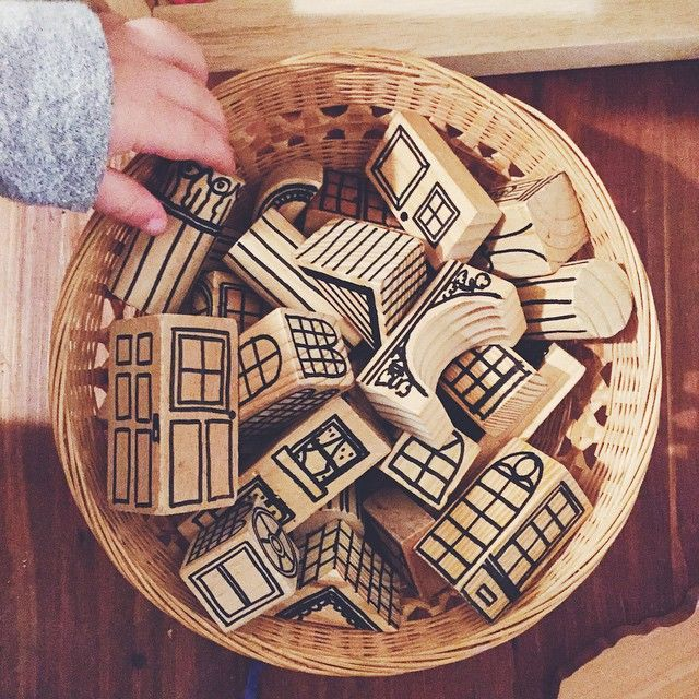 Diy Archtiectural Building Blocks For Kids