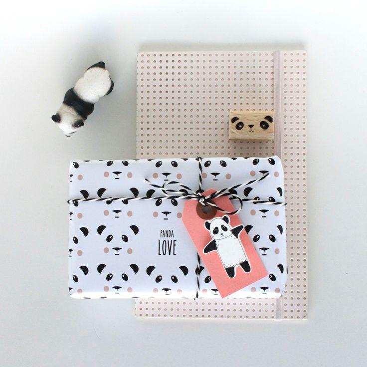 panda print paper
