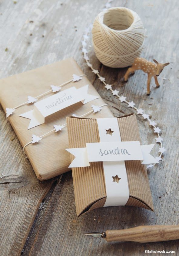 Diy Wrapping Gifts Inspiration Why Ever Bother To Buy Wrapping