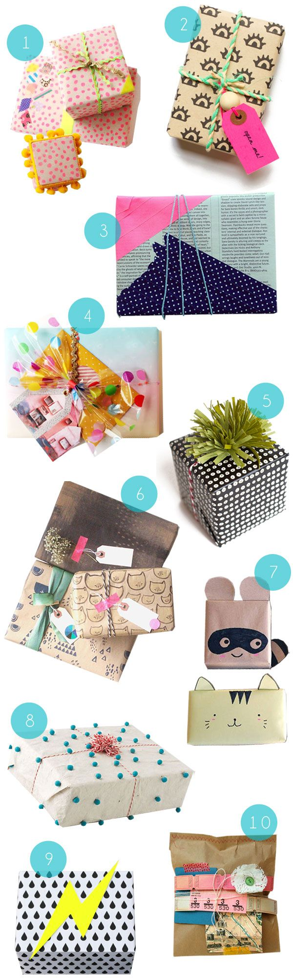 Wrapping Inspiration - Oh Happy Day!