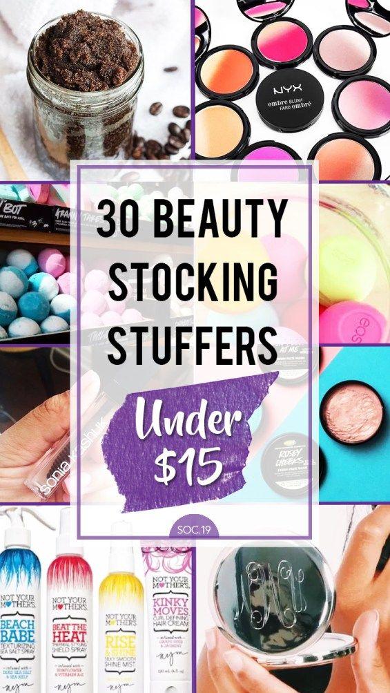 30 Beauty Stocking Stuffers Under $15