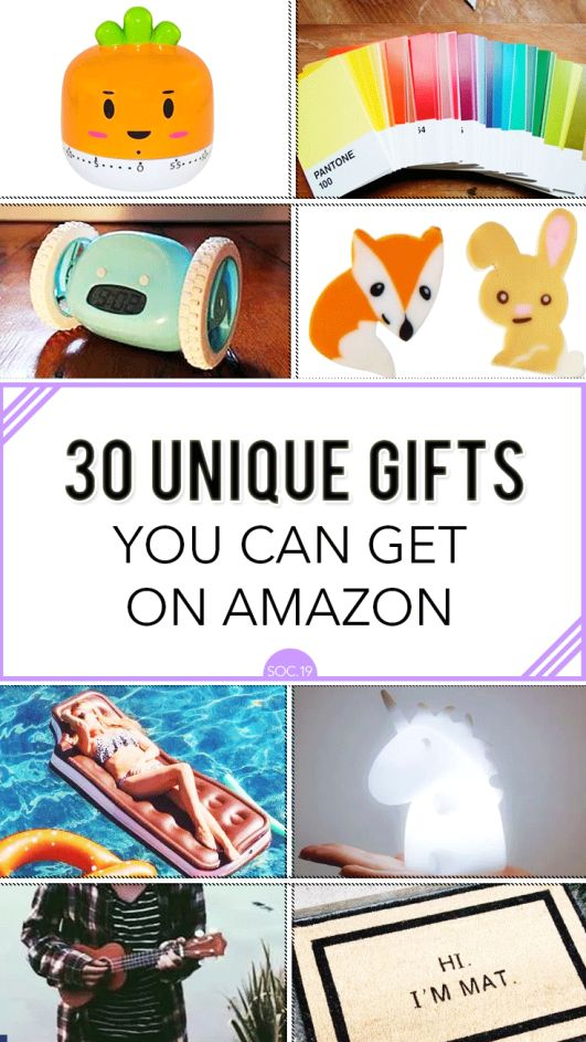 30 Unique Gifts You Can Get on Amazon