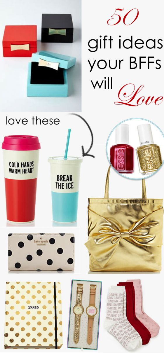 50 Gift Ideas Your BFFs Will Love
