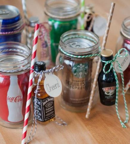 Gifts for her affordablle and cute christmas mason jar for Cute mason jar christmas gift ideas