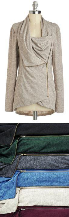 Cozy cardigan: i'll take one in each color, please! www.revolvechic.c...