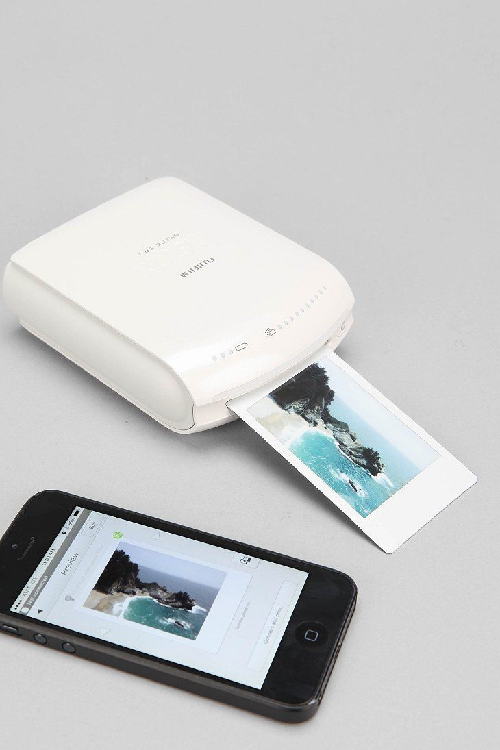 Fujifilm INSTAX Instant Smartphone Printer - so freaking cool! Perfect gift for ...