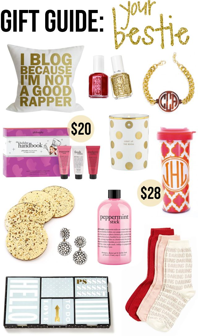 Gifts For Her Gift Guide Your Best Friend Everything Is Under