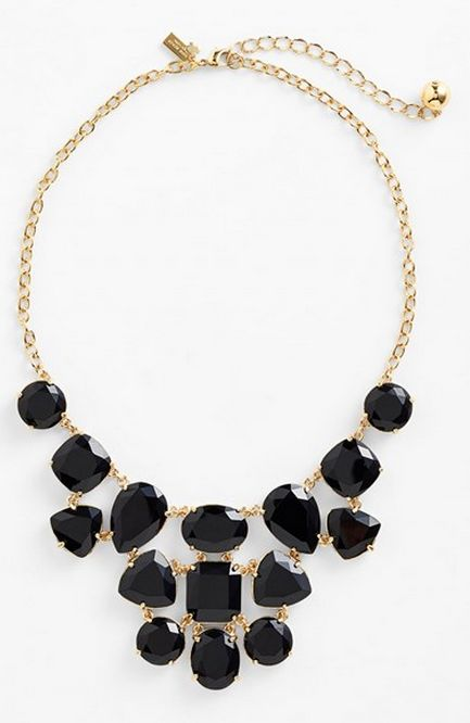 Gorgeous jewel bib necklace by kate spade new york rstyle.me/...