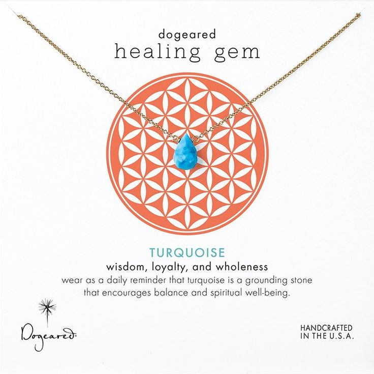 healing gem turquoise necklace
