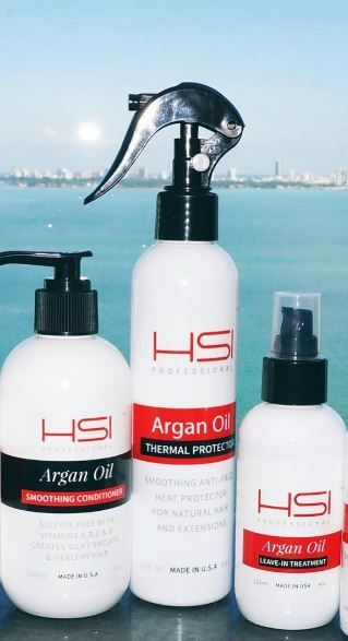 Love the Argan Oil Infused Treatment from HSI
