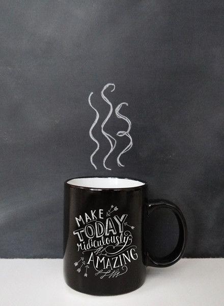 Gifts For Her : Make Today Ridiculously Amazing U2013 Coffee Mug