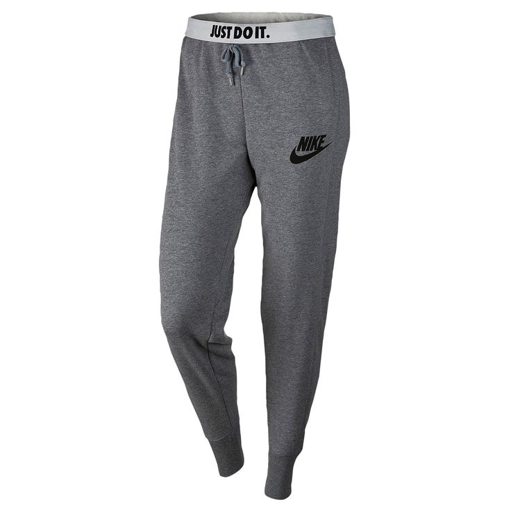 Nike Rally Jogger Pants - Women's - Casual - Clothing - Carbon Heather/Cool ...